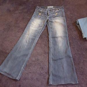 Express Zelda wide Leg Jeans